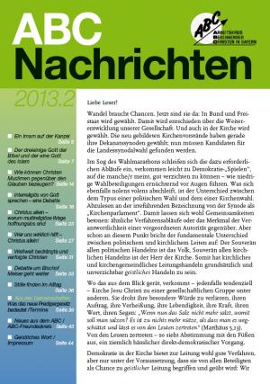 ABC-Nachrichten 2.2013