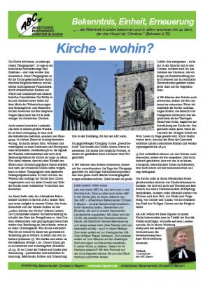 Beilage Sonntagsblatt